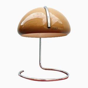 Lampada da tavolo Conchiglia Mid-Century di Massoni & Buttura per Guzzini, anni '70
