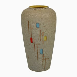 West German Ceramic Vase from Scheurich, 1960s