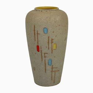 Westdeutsche Keramikvase von Scheurich, 1960er