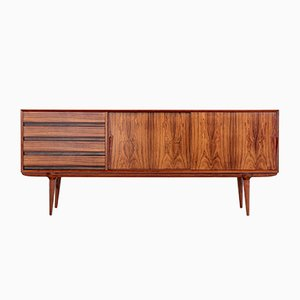 Low Rosewood Model 18 Sideboard from Omann Jun, 1960s