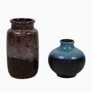 Vases Vintage de Scheurich, 1960s, Set de 2