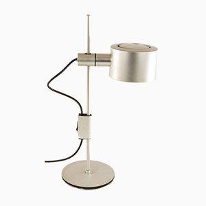Lámpara de mesa de aluminio de Ronald Homes para Conelight Limited, años 60