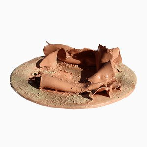 Terracotta Tray 1 by Mascia Meccani for Meccani Design