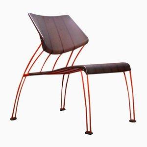Silla Hasslo de Monika Mulder para Ikea, años 90