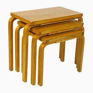 Tavolini ad incastro di Alvar Aalto, anni '30
