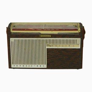 Radio a transistores LT portátil francesa de Philips, 1961