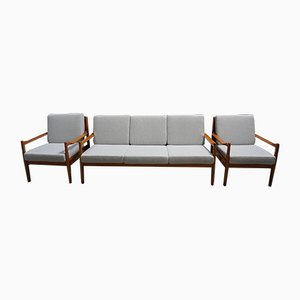 Mid-Century Danish Modern Living Room Set