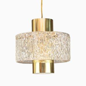 Lampe à Suspension par JT Kalmar, 1950s