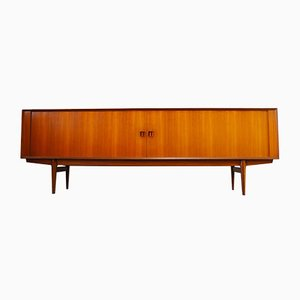 Minimalist Teak Sideboard by Oswald Vermaercke for V-Form, 1950s