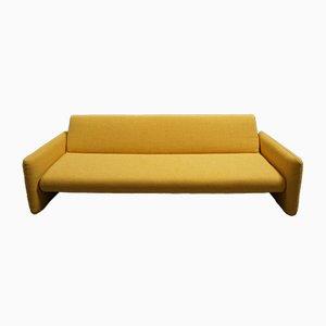 Modernes gelbes Mid-Century 3-Sitzer Tagesbett, 1960er