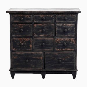 19th-Century Swedish Sideboard with Drawers