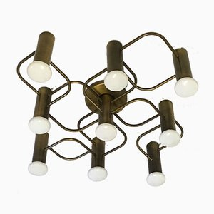 Wall or Ceiling Lamp by Gaetano Sciolari for Leola, 1970s