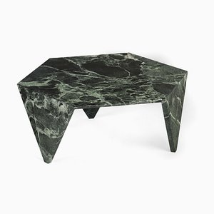 Alpi Verde Marble Ruche Coffee Table by Giorgio Ragazzini for VGnewtrend