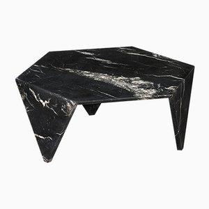 Nero Marquinia Marble Ruche Table by Giorgio Ragazzini for VGnewtrend