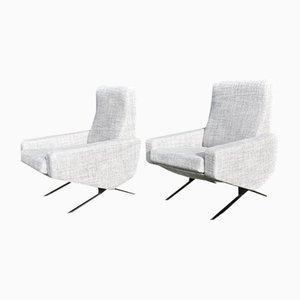 Vintage Sessel von Paul Geoffroy für Airborne, 2er Set
