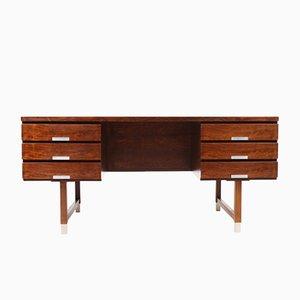 Mid-Century Danish Rosewood Desk by Kai Kristiansen for Skovmand & Andersen, 1950s