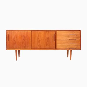 Mid-Century Sideboard in Teak by Nils Jonsson for Hugo Troeds, 1960s