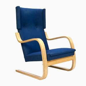 Vintage 401 Lounge Chair by Alvar Aalto for Artek