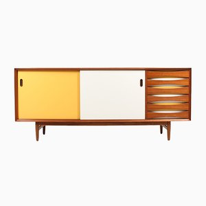 Mid-Century Sideboard aus Teak von Arne Vodder für Sibast, 1960er