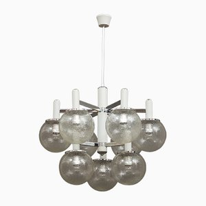 Vintage Murano Glass Chandelier by Gaetano Sciolari for Sciolari