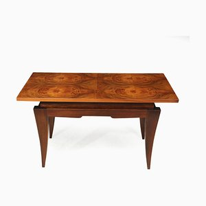 Art Deco French Walnut Coffee Table