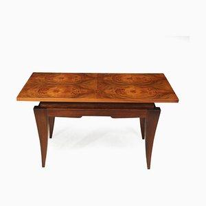 Art Deco French Walnut Coffee Table