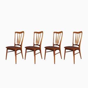 Chaises de Salle à Manger Ingrid Mid-Century de Koefoeds Hornslet, Set de 4