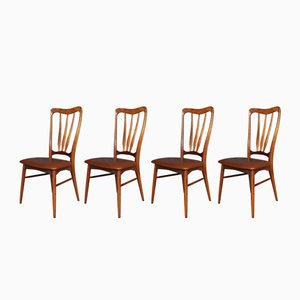Mid-Century Ingrid Dining Chairs from Koefoeds Hornslet, Set of 4