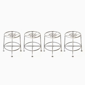 Industrial Stools by Dario Merconii, Set of 4