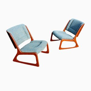 Vintage Lounge Chairs from Baumann, Set of 2