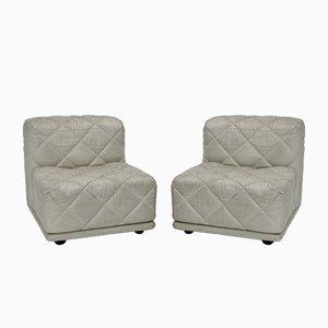 Weiße Vintage Rhombos Sessel von Franz Wittmann, 1970er