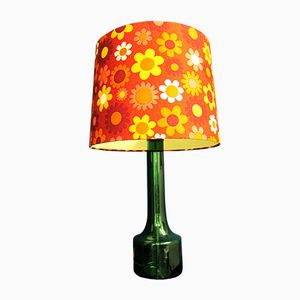 Flower Power Table Lamp from Doria, 1970s