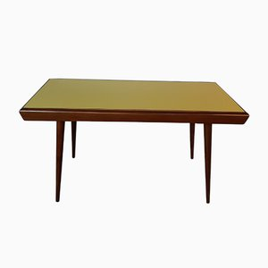 Czechoslovakian Table with 2-Tone Reversible Top from Interier Praha, 1960s