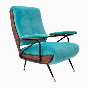 Mid-Century Italian Lounge Chair, 1950s