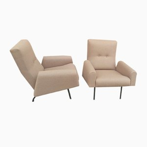 Vintage Armchairs by Louis Paolizzi for ZOL, 1960s, Set of 2