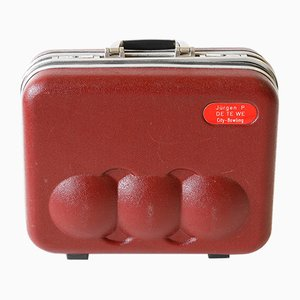 Vintage Asoma Bowling Ball Suitcase
