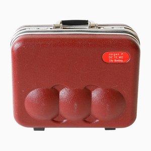 Vintage Asoma Bowling Ball Suitcase