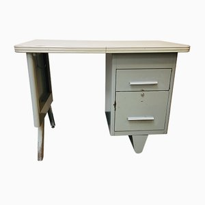 Mid-Century Ministre Metal Desk from RCB-France