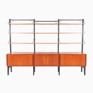 Mid-Century Free Standing Royal System Unit by Poul Cadovius for Cado, 1960s
