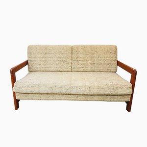 Sofá cama Mid-Century de teca