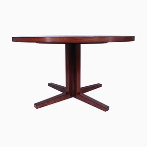 Vintage Extendable Rosewood Dining Table by John Mortensen for Heltborg Mobler