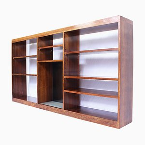 Vintage Danish Rosewood Wall Unit Bookcase