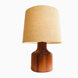 Lámpara Mid-Century de teca de Kirk Denmark