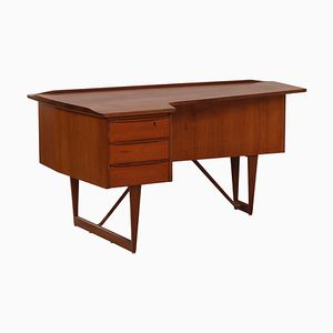 Teak Desk by Peter Løvig Nielsen for Hedensted Mobelfabrik, 1960s