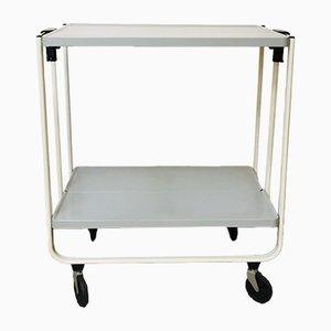 Mid-Century Metal Serving Bar Cart