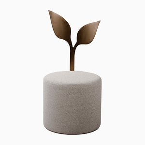 Ivy Pouf by Artefatto Design Studio for SECOLO