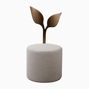 Ivy Pouf von Artefatto Design Studio für SECOLO