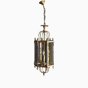 Vintage Brass Lantern, 1950s
