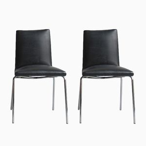 Robert Chairs by Pierre Guariche for Meurop, 1960s, Set of 2
