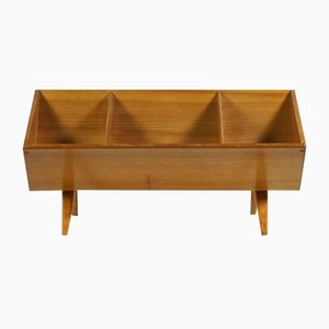 Elm Bookshelf Rack by Bruno Mathsson, 1940s